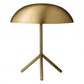 bloomingville gold lampe de table tripod metal dore 48400023