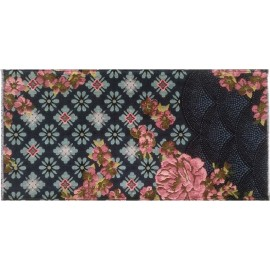 miho unexpected tapis fleuri boheme romantique amour fou 70 x 140 cm