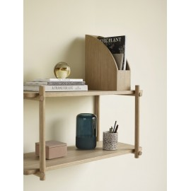 hubsch etagere murale epuree bois clair style scandinave 880808