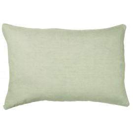 ib laursen housse de coussin rectangulaire vert menthe lin 6201-81