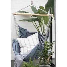 ib laursen chaise suspendue hamac tissu bleu jean 2390-00