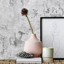 bloomingville vase epure design gres rose 82043409