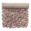 bungalow denmark tapis fluffy chiffon recycle rose 80 x 140 cm