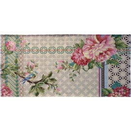 miho unexpected things garden city tapis de chambre fleuri romantique