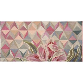 Tapis original fleuri rose Miho Unexpected Mr Tulip