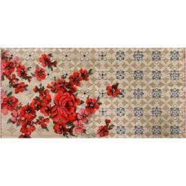 Tapis fleuri tissé jacquard Miho Unexpected A Perfect Day