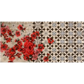 Tapis rétro vintage fleuri Miho Unexpected Second Opinion