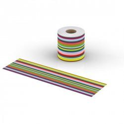 Bandelette cov'roll lif  rayures multicolore