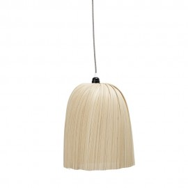 bloomingville nature suspension bambou naturel forme de cloche 82042422