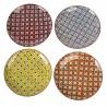 pols potten hippy set de 4 grandes assiettes multicolores 230-400-401