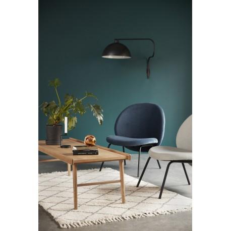 hubsch table basse rectangulaire scandinave annees 60 bois. Black Bedroom Furniture Sets. Home Design Ideas