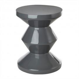 tabouret pols potten zig zag gris 510-070-052