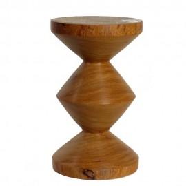 pols potten zig zag tabouret bois 500-030-026