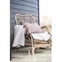 ib laursen fauteuil en rotin naturel tresse style vintage retro