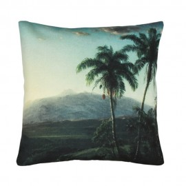 hk living coussin palmier 45 x 45 cm