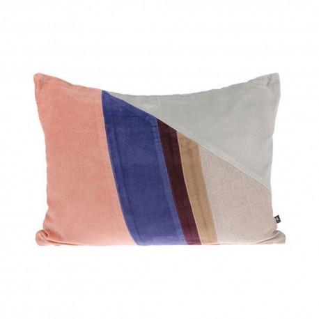 hk living coussin rectangulaire multicolore graphique 50 x 35 cm