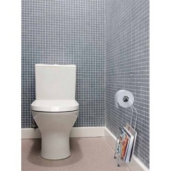 DISTRIBUTEUR PAPIER TOILETTE CHROME DESIGN BOY