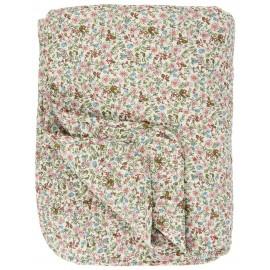 ib laursen boutis matelasse petites fleurs roses 130 x 180 cm