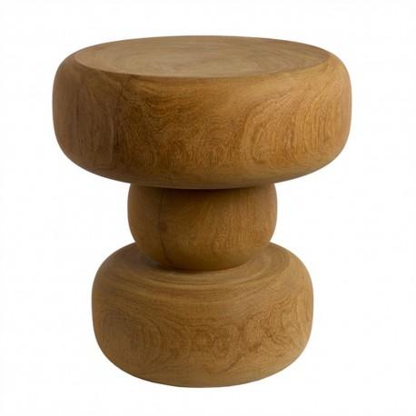 pols potten tabouret bois in between