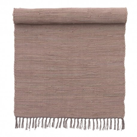 petit tapis descente de lit mauve coton bungalow denmark. Black Bedroom Furniture Sets. Home Design Ideas