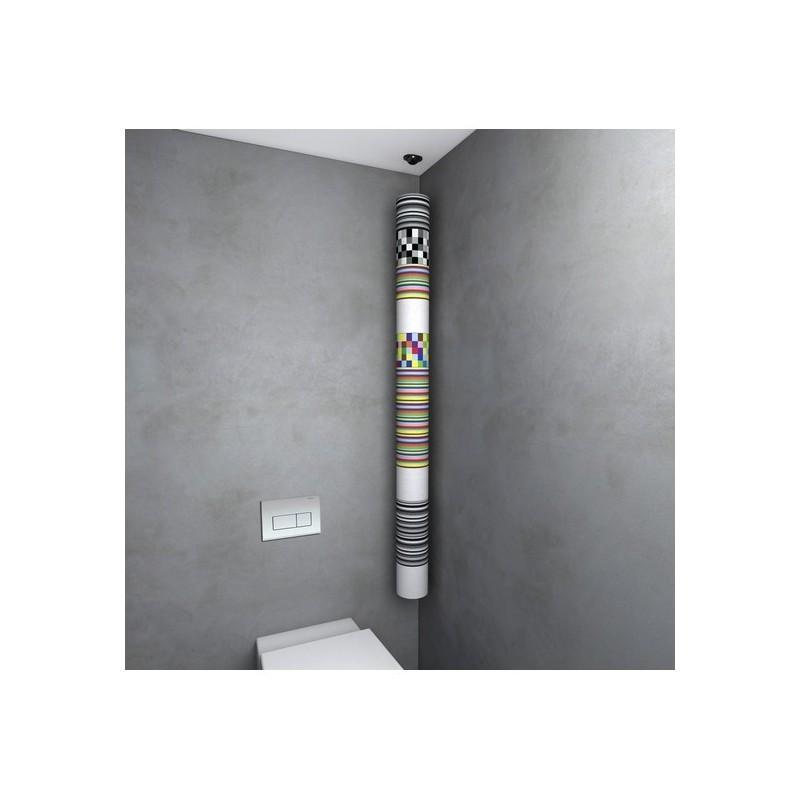 Porte Rouleaux Papier Wc Suspendu Design Rollup Lif - Porte rouleau papier wc