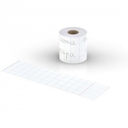 Bandelette cov'roll lif page vierge de cahier