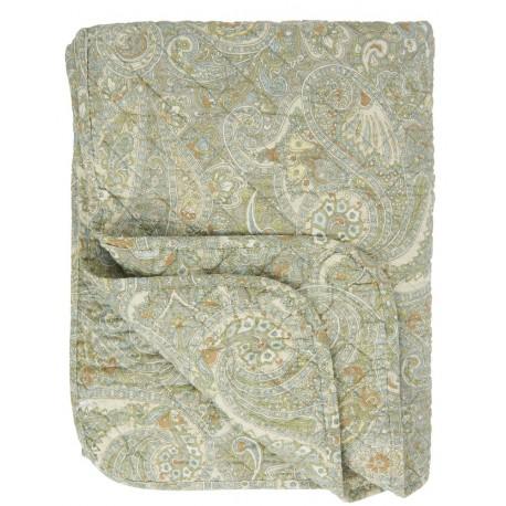 boutis matelasse motif paisley ib laursen vert 0713-42