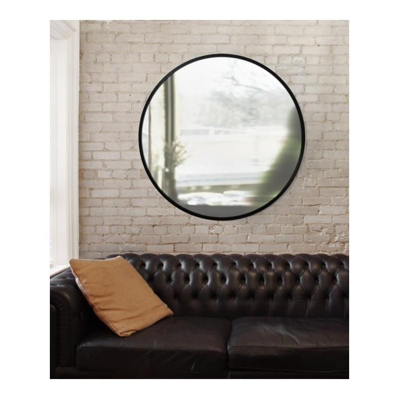 miroir mural rond extra large grand umbra hub 37. Black Bedroom Furniture Sets. Home Design Ideas