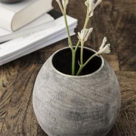Vase gris effet béton rustique House Doctor Groove