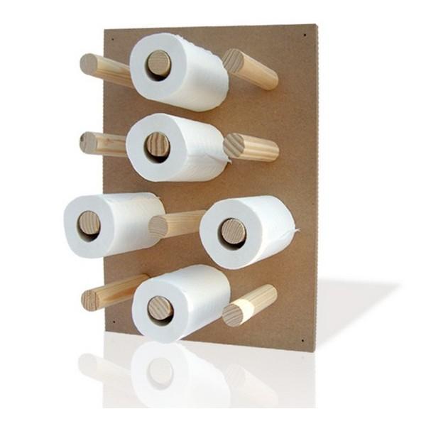 Range papier toilette design pq nature - Rangement papier toilette original ...