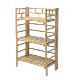 bloomingville bamboo etagere a poser en bois de bambou 82040930