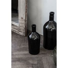 house doctor vase bottle bouteille marron fonce wl04001