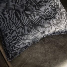 house doctor paper housse de coussin carree lin gris 50 x 50 cm ab1590
