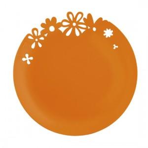 assiette-plastique-alice-orange