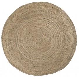 ib laursen grand tapis rond en jute 220 cm 6511-30