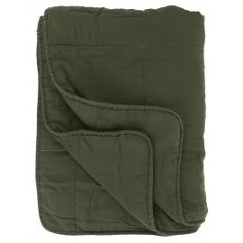 ib laursen boutis matelasse coton uni vert fonce 6208-55