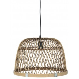 ib laursen suspension bois de bambou naturel tresse 3842-14