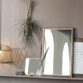 miroir mural rectangulaire bois de bambou ib laursen 9090-30