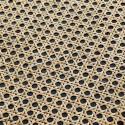 madam stoltz etagere murale ronde rotin osier effet broderie 18Y5164