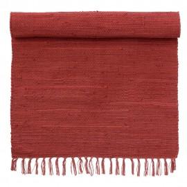 bungalow denmark tapis descente de lit rouge 60 x 90 cm