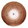 pols potten dot applique murale ronde design metal cuivre 300-450-033