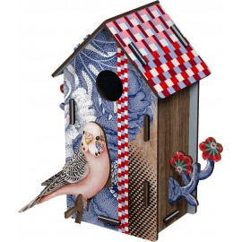 Cabane oiseaux décorative Miho Sweetheart