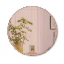 umbra hub miroir biseaute rond teinte cuivre 1013719-880