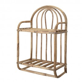 bloomingville alice etagere style rustique campagne bois canne 82046429