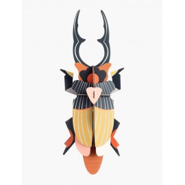decoration murale scarabee doryphore studio roof giant stag beetle