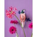 oiseau decoratif mural studio roof paradise bird rani ttm81