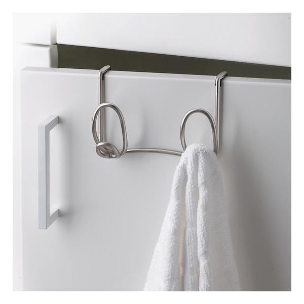 Porte serviette pour porte umbra rings double kdesign for Porte serviette double