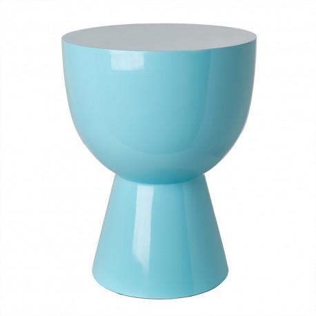 pols potten tam tam tabouret design bleu clair 510-070-073