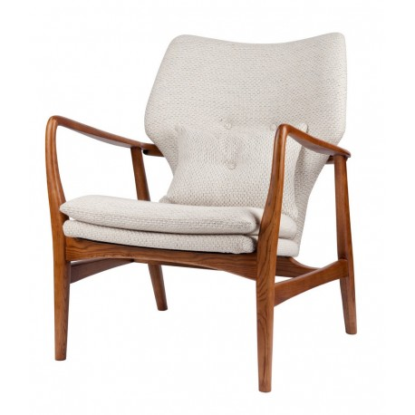 pols potten peggy fauteuil design scandinave retro ecru 550-020-066