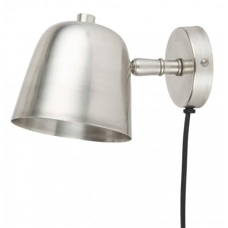 applique de chevet rustique metal argent ib laursen 1071-00